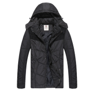 Recreational riding coat winter long in warm sports jacket men leisure Outdoor wool clothing old clothes