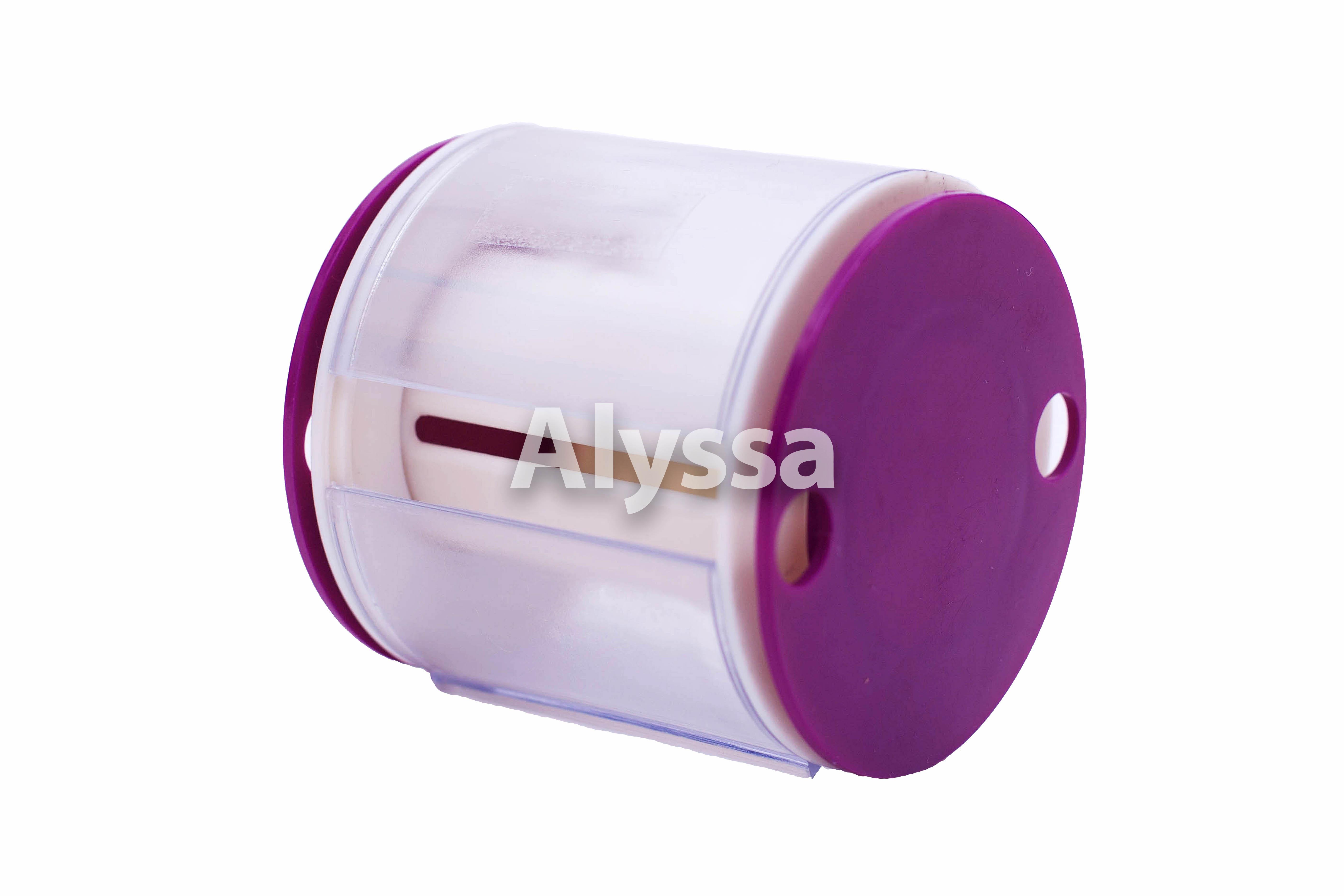 Alyssa искусство гимнастика цвета ленты специальный вокруг ремень / объем ремень - фиолетовый