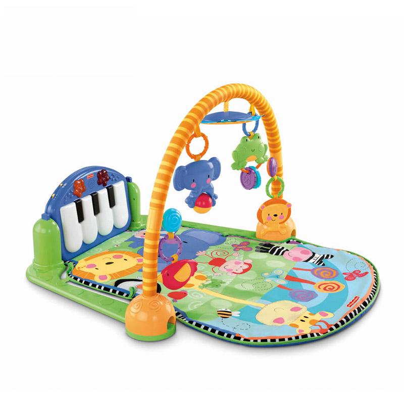 【 рысь супермаркеты 】 рыболов гусли гусли фитнес устройство ребенок фитнес - стойка содержать музыка пианино фитнес устройство W2621