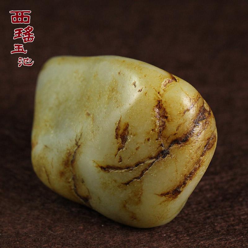 Западный самоцвет нефрит бассейн синьцзян уезд хотан джейд нефрит кряж семена материал природный нефрит конец собирать статья литье капитал статья