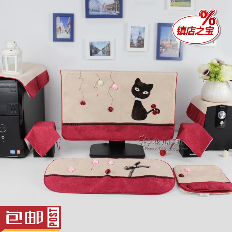 Компьютер электроэнергия мозг крышка милый ткань рабочий стол компьютер обложка кузов жк дисплей устройство обложка тканевая корейский бесплатная доставка