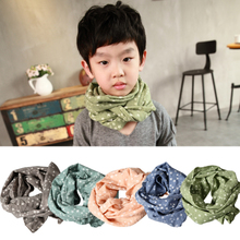 Magic Fan Sheng 2015 autumn new literary fei little pure and fresh and a multicolor stars cotton men's and women's children's scarf