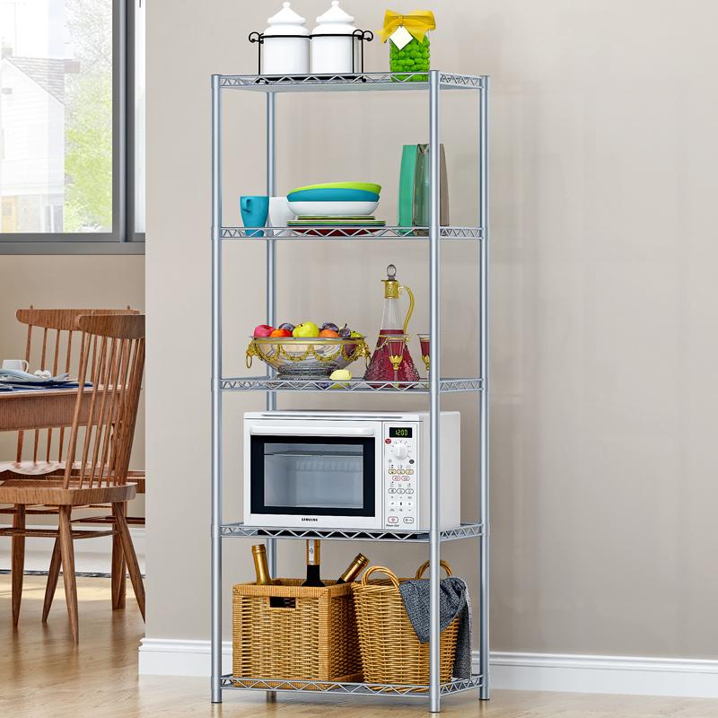 亞思特碳鋼微波爐架 微波爐置物架 廚房置物層架 收納架 儲物架