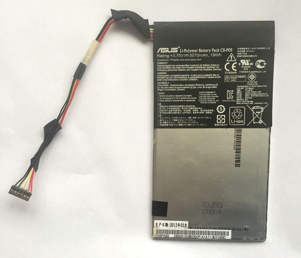 包邮华硕ASUS A68基座平板电脑原装拆机电池C11-P05 5070mAh,19Wh