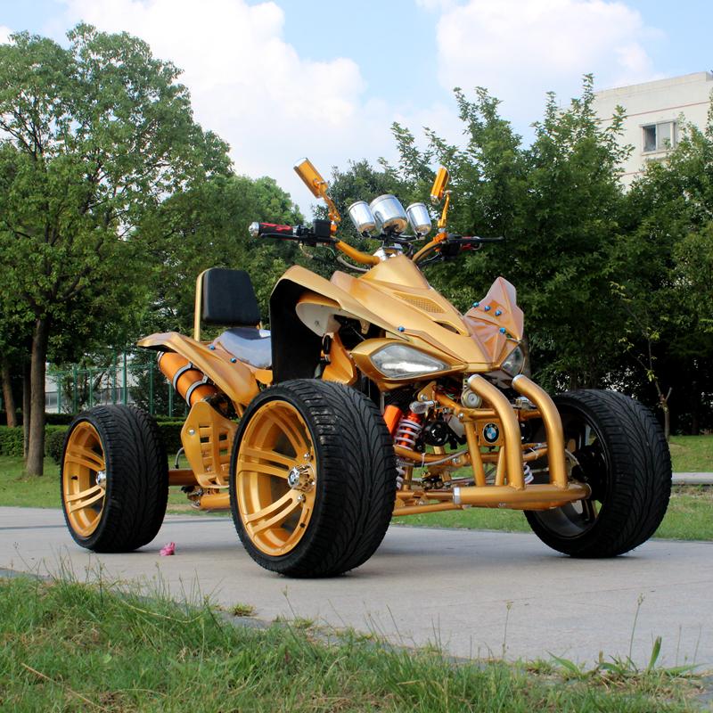 250CC大火星沙滩车四轮越野摩托车轴传动全地形沙漠山地车公路越