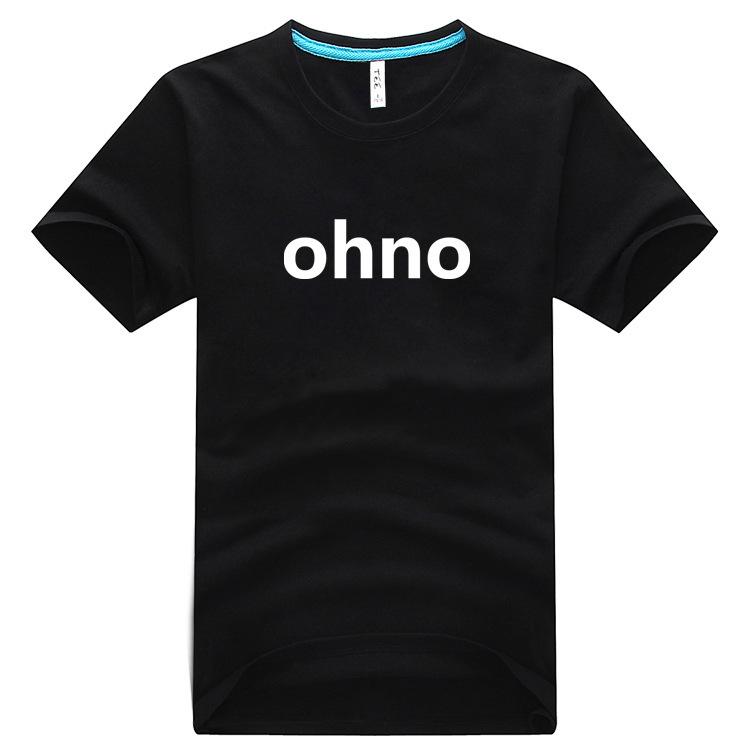 嵐嵐嵐嵐嵐夏純綿半袖Tシャツohno周辺同タイプの男女ラウンドネックTシャツ半袖新