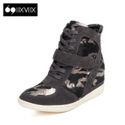 IIXVIIX2015 new leather winter Camo spelt color, head increase in high help shoes SN54110543