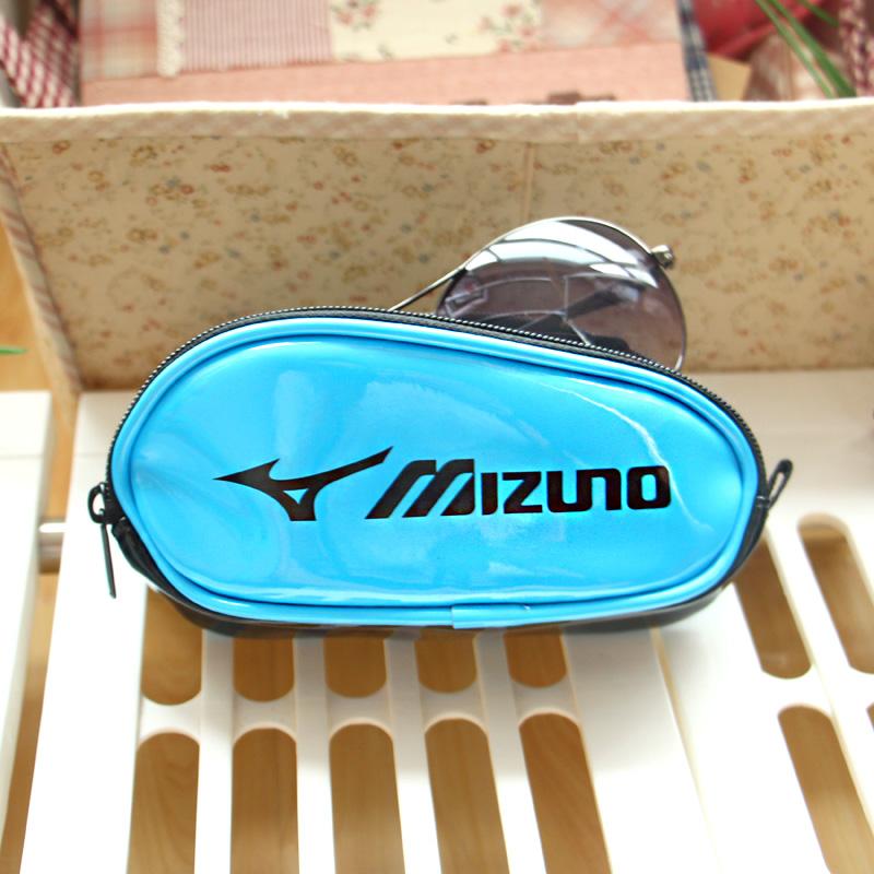 Япония большой кожаный солнцезащитные очки очки Sun поле очки случае кожаный чехол близорукости