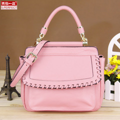 Show bag genuine leather ladies shoulder bag fall 2015 European fashion women bags trends mobile Crossbody bag