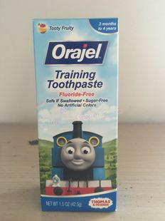 US Orajel Oral children can swallow toothpaste freon fruit 42 5 g