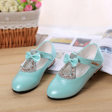 2015 summer girl han edition single diamond dance shoes girl students single female special leather shoes