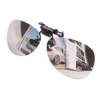 taobao agent 新款偏光太阳镜夹片蛤蟆镜男眼镜女反光近视墨镜夹片镜潮人司机镜