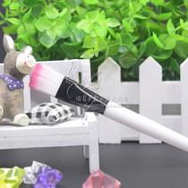 DIY元批发特价美容院化妆套刷化妆工具面膜刷子塑料白毛调膜刷1
