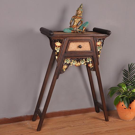 实木佛堂榆木条案神龛神桌贡财神桌