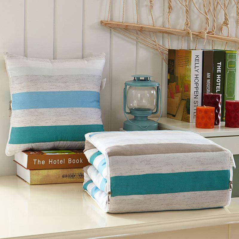 汽車抱枕被子兩用大號車用靠枕被辦公室午睡枕頭被沙發空調被毯子