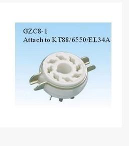 Большой восьмерки ступня электронный трубка трубка сиденье GZC8-1 применимый 6p3p.el34 .6p6p .6n8p 5z3p подожди