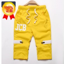 Male children 6 summer 15 new 4-5 to 7 boy shorts 8 9 kids shorts 10-12 leisure trousers