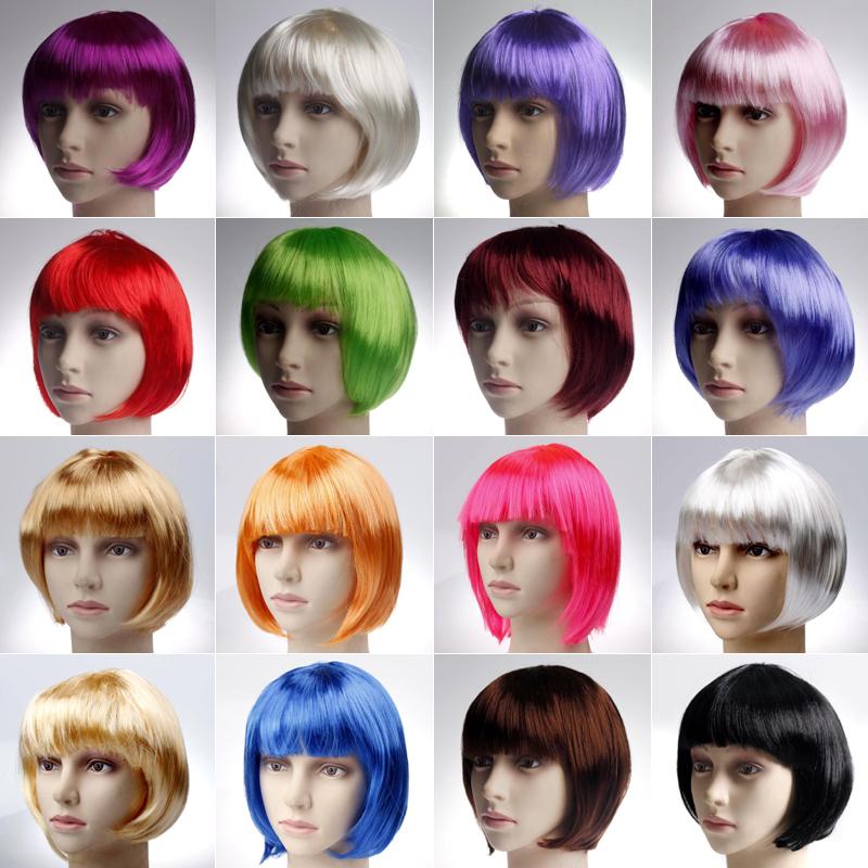 Хэллоуин составить танец может статьи короткие волосы парик женщина милый студент волосы BOBO глава парик разнообразие может выбирать