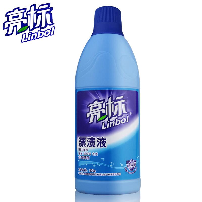 亮标漂渍液去霉除菌漂白去渍增艳除菌不伤衣增艳护色84漂白水
