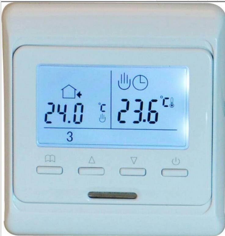 E51 фасон унисекс переключатель Контроллер напольного отопления панель программируемый