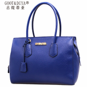 Gu Ti based Asian female package header layer of leather leather 2015 fall/winter new European fashion shoulder bag