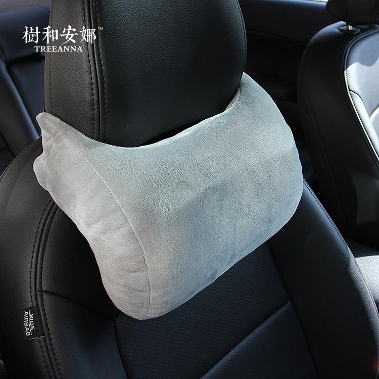 树和安娜 可调护颈枕超舒适可调高低汽车颈枕 内饰装饰单品男女枕