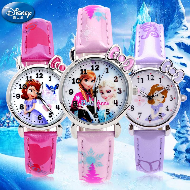 聖誕 玩具女孩迪士尼小學生兒童手表小孩卡通電子手表女童防水