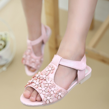 In the summer of 2015 the new baby sandals shoes grin sandals han edition girls sandals
