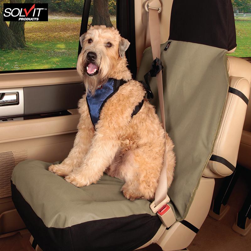Сша Solvit автомобиль домашнее животное подушка автомобиль переднее сиденье подушка крышка водонепроницаемый небольшой собаки китти собака автомобиль подушка