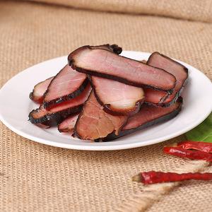 鹌鹑西施 四川腊肉 厂家直销  过节必备 烟熏后腿肉 500克