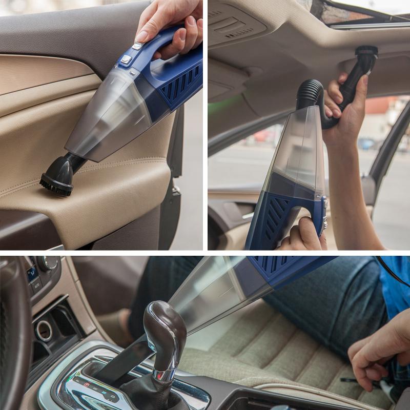 Автомобиль пылесос автомобиль мощный 12V большой мощности сухой мокрый двойной портативный стиль мини автомобиль машина пылесос