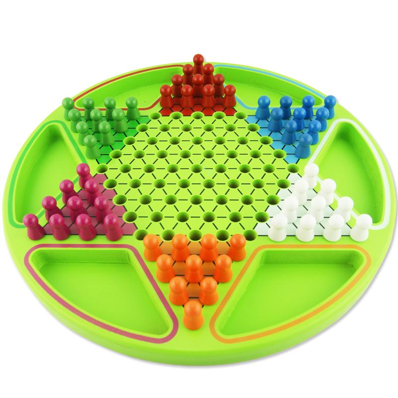 Ребенок головоломка шестиугольник шашки большой размер шахматы карты деревянный интеллект ученик рабочий стол игра отцовство мужской и женщины ребенок игрушка