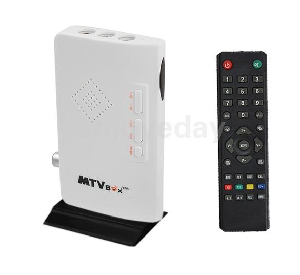 QS液晶电视盒775B 电视卡免开主机VGA转换电脑液晶显示器看电视