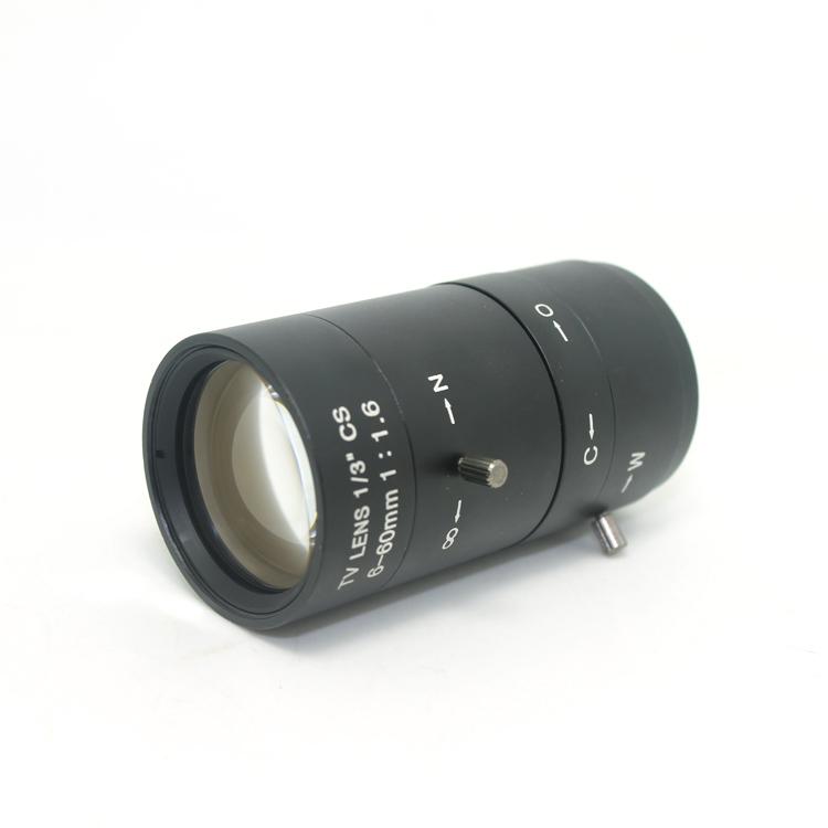 高清 6-60mm 工业镜头 工业/显微镜镜头 C/CS接口工业相机镜头