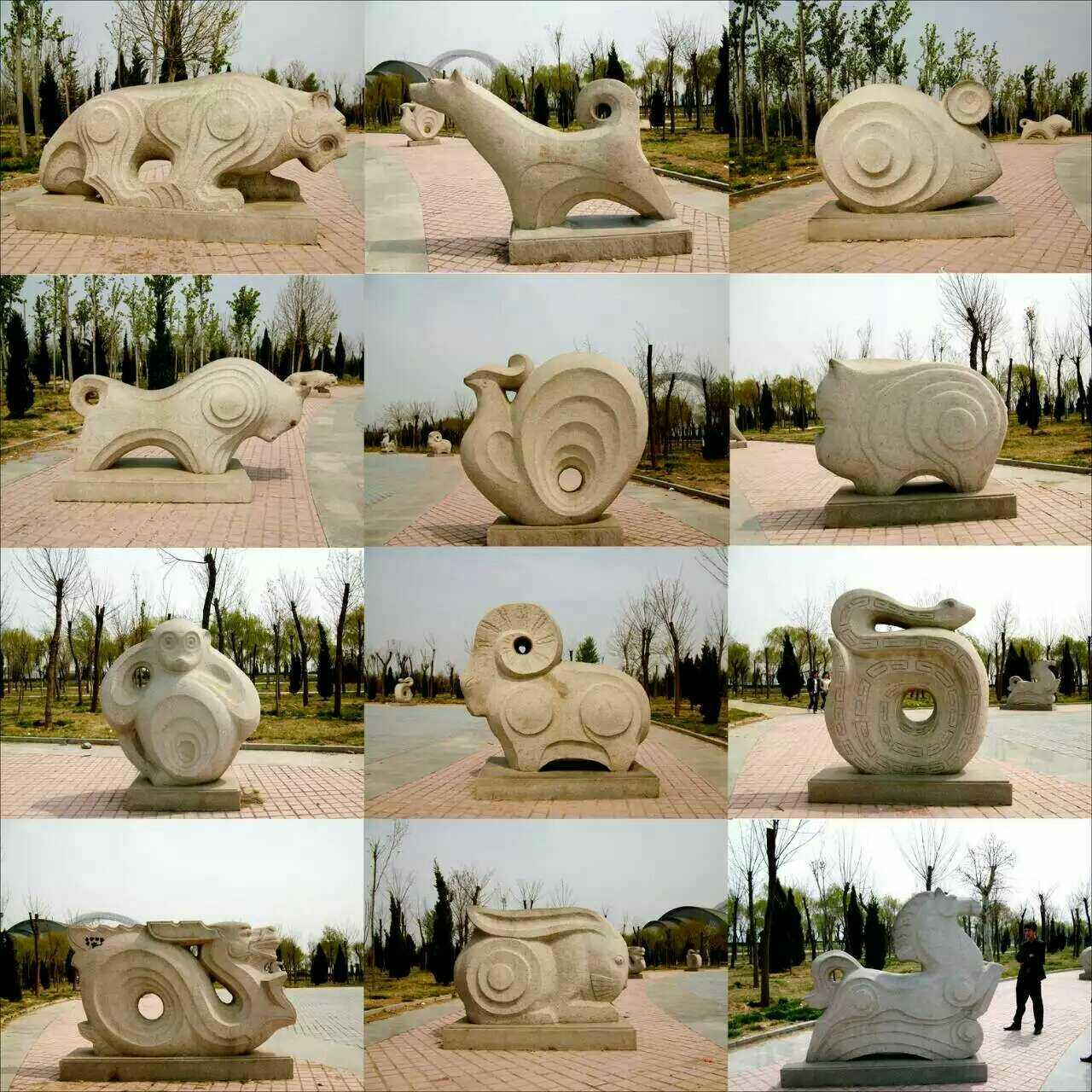 Камень модельывать двенадцать символов китайского зодиака камень двенадцать символов китайского зодиака песня солнце резьба двенадцать символов китайского зодиака камень двенадцать символов китайского зодиака