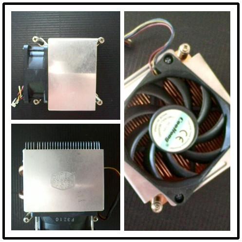 原装1366针X58 1150针H55H61 b85台式机服务器CPU散热器风扇