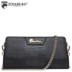 Jules personalities fall/winter women's clutch bag new snakeskin leather chain link shoulder bags leisure bags women