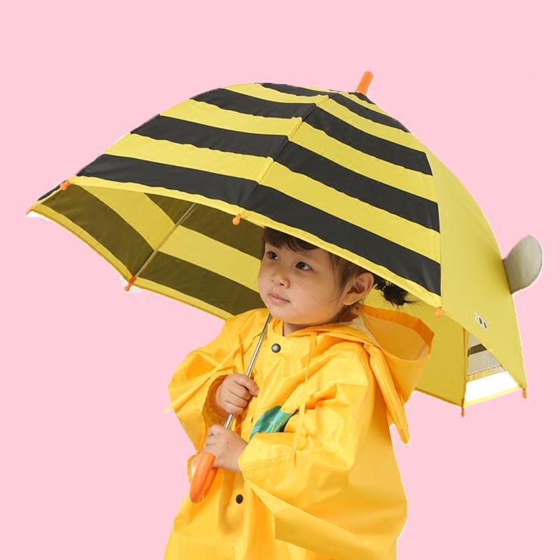 美国小雨伞幼儿园男童宝宝雨伞超轻儿童雨伞雨具小学生女小孩直柄