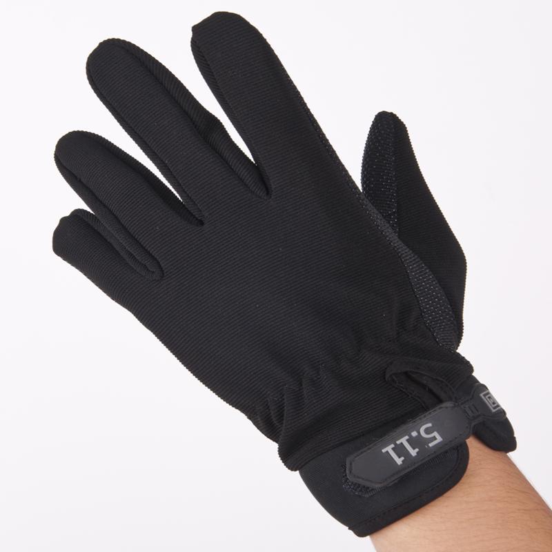 511战术薄款半长指手套男春秋夏季户外运动开车跑步骑车健身手套