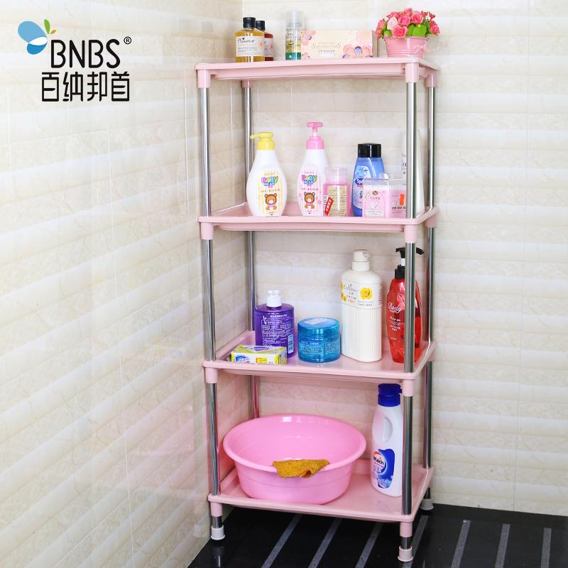Ванная комната стеллажи сгущаться купаться между треугольник умывальник полка нержавеющей стали ванная комната пластик хранение полка этаж