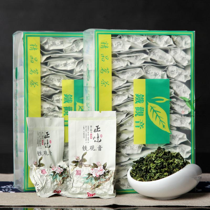 2016 Anxi tie Гуань Инь чай Лучжоу Купите один получить один бесплатный аутентичный чай Wu длинные чай