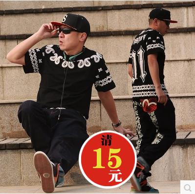 Этнический стиль кешью цветок хип-хоп хип-хоп MISBHV Западного побережья прилив любителей короткий рукав футболки для мужчин и женщин PYREX