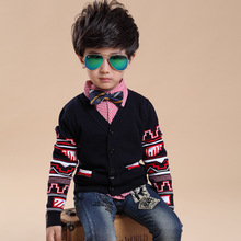 The new direct selling authentic autumn school fashion brand 2015 single-breasted cotton wool coat cardigan tide