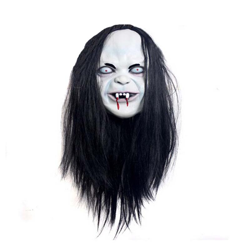 Хэллоуин ужас обиду тцу ведьма маска призрак маска ужаса Маска зомби маска для волос