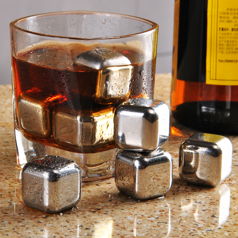 Лед зерна скорость замораживать лед блок престиж ученый избежать пиво кофе напитки холодный но лед блок нержавеющей стали 8 капсулы отвезти коробку лед клип