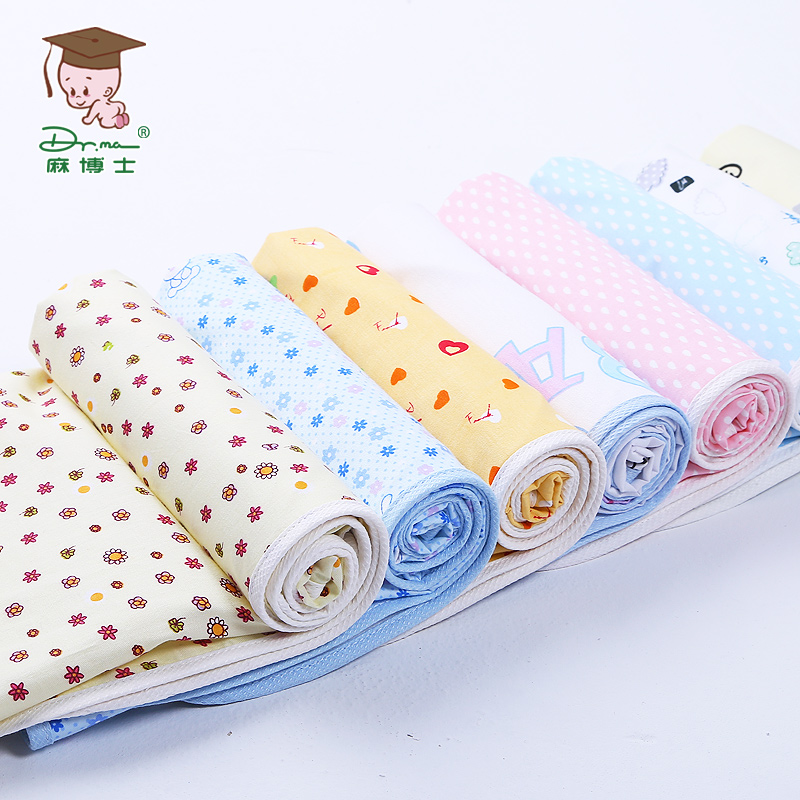 Baby diaper pad made of cotton, waterproof and breathable, baby diaper pad, newborn jute pad washable