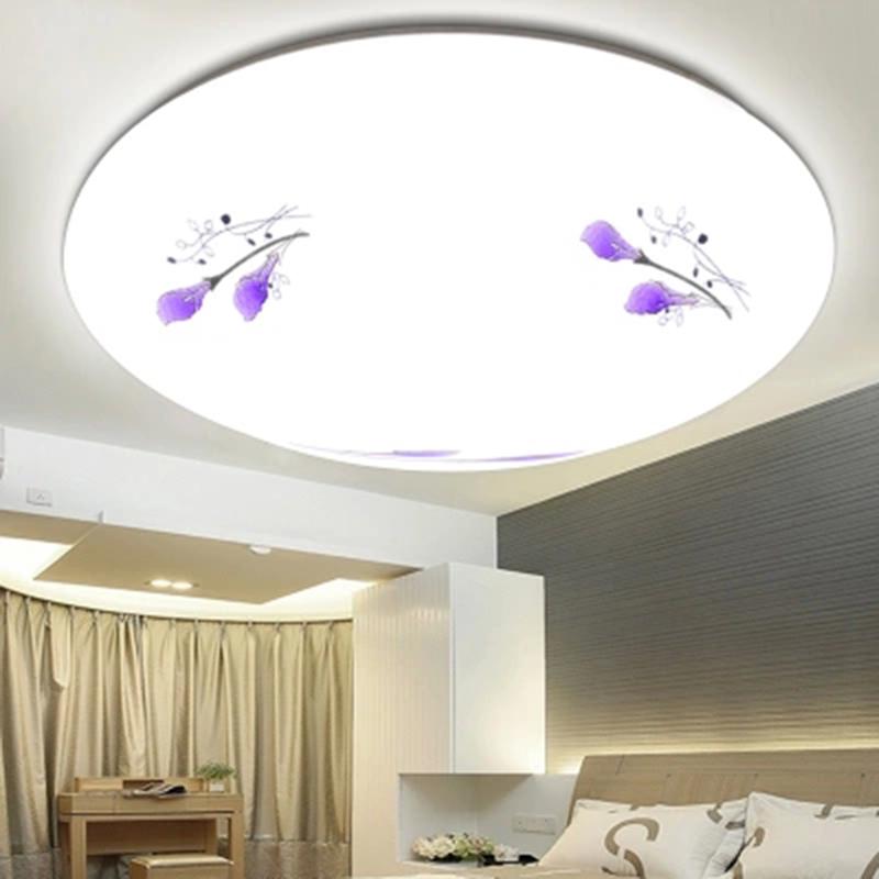 吸頂燈臥室 圓形溫馨客廳LED家裝主材餐廳廚房衛生間簡約節能