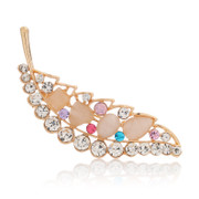 Love mail rhinestone brooch Korea elegant decorative brooch pin fashion jewelry accessory for women