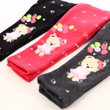 Children's clothes girls plus velvet leggings new winter cotton and wool thickening fashion warm leggings baby pants