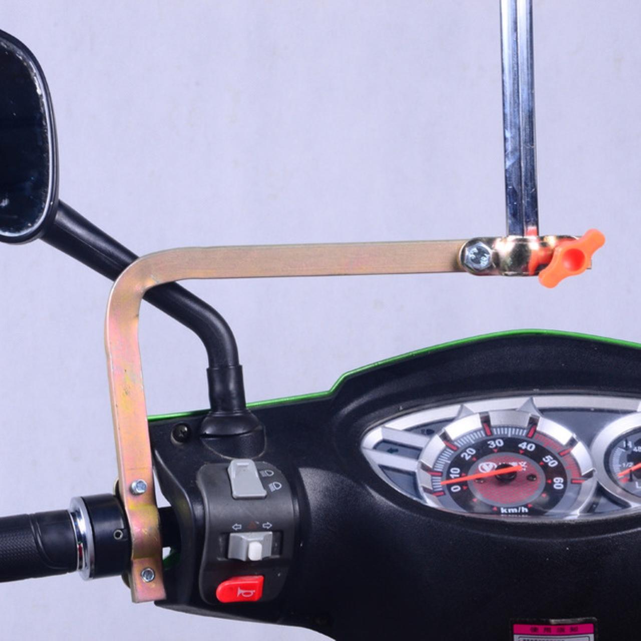 Кореной зонтик твердый стоять бесплатная доставка электромобиль зонт стоять аккумуляторная батарея автомобиль педаль мотоцикл велосипед три